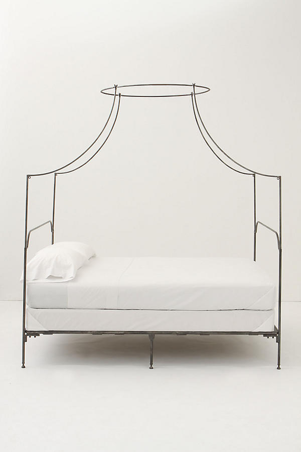 Slide View: 4: Campaign Canopy Bed