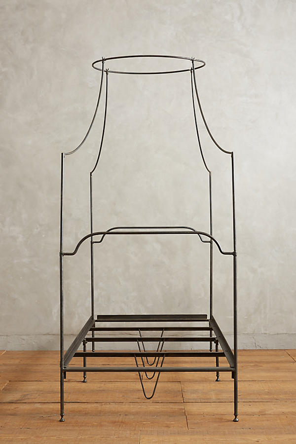 Slide View: 5: Campaign Canopy Bed