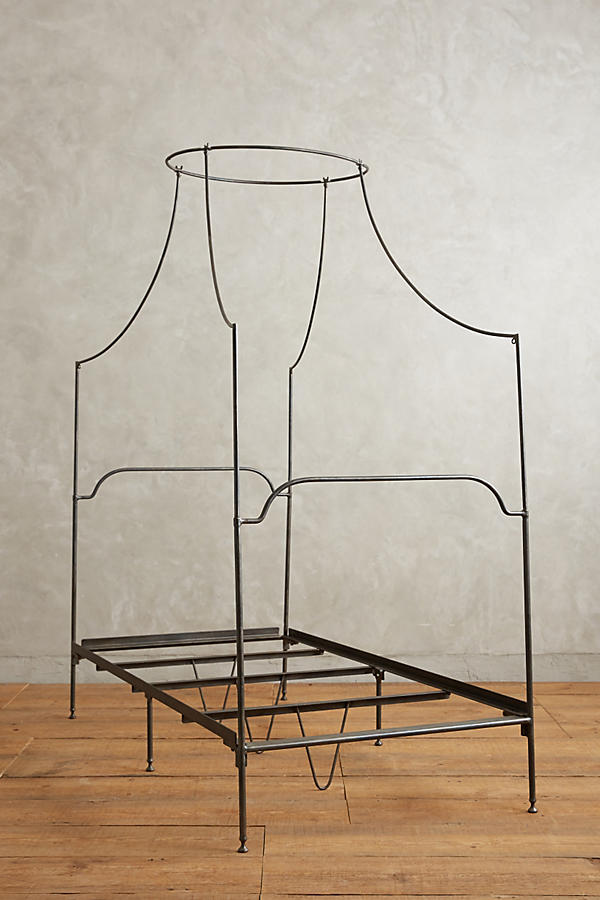 Slide View: 6: Campaign Canopy Bed