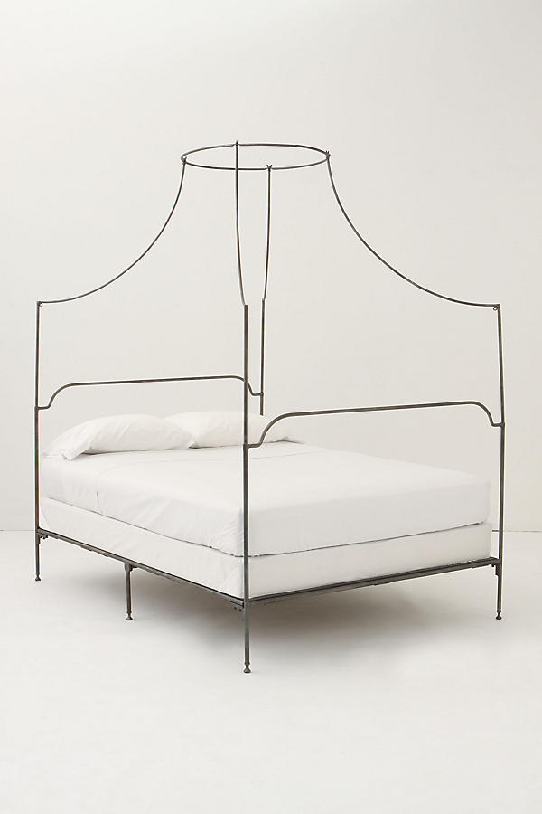 Slide View: 1: Campaign Canopy Bed