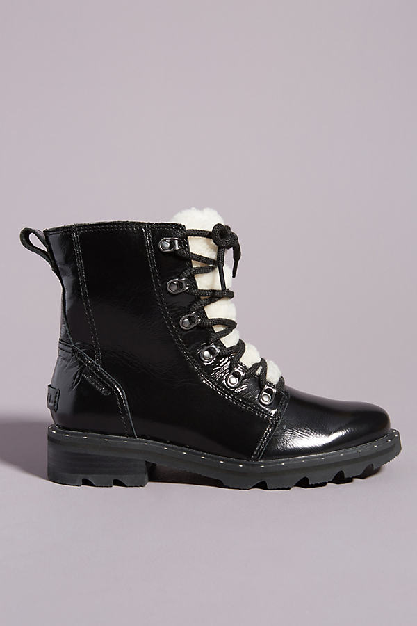 Sorel SOREL LENNOX COZY LACE-UP RAIN BOOTS