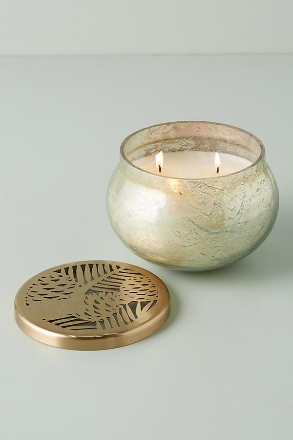 Oralie Autumn Glass Jar Candle