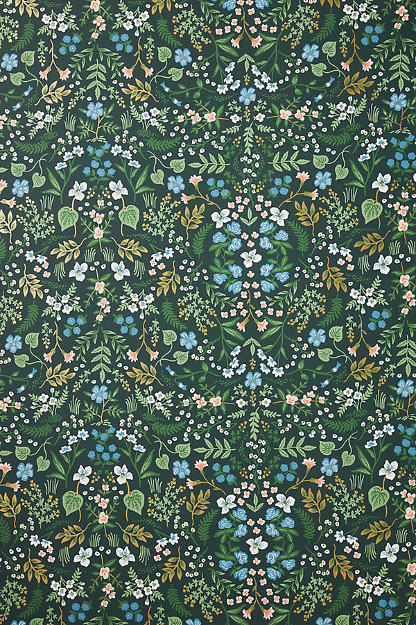 Rifle Paper Co.Rifle Paper Co. Wildwood Wallpaper By Rifle ...