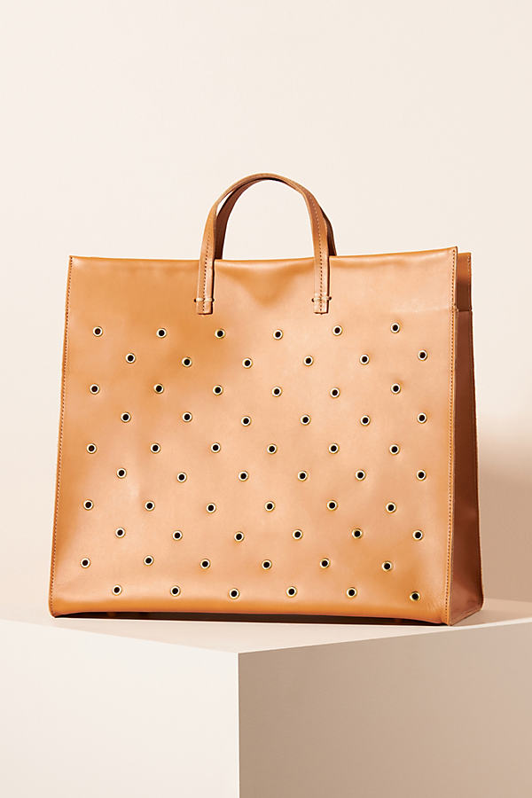 Clare V CLARE V. STUDDED SIMPLE TOTE BAG