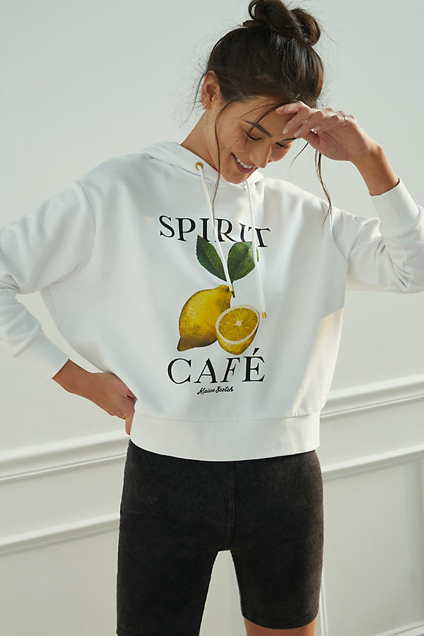 Scotch & Soda SCOTCH & SODA SPIRIT CAFE HOODIE
