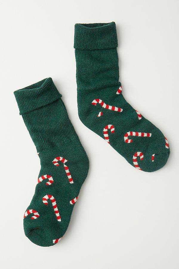 Happy Socks COZY CANDY CANE CREW SOCKS