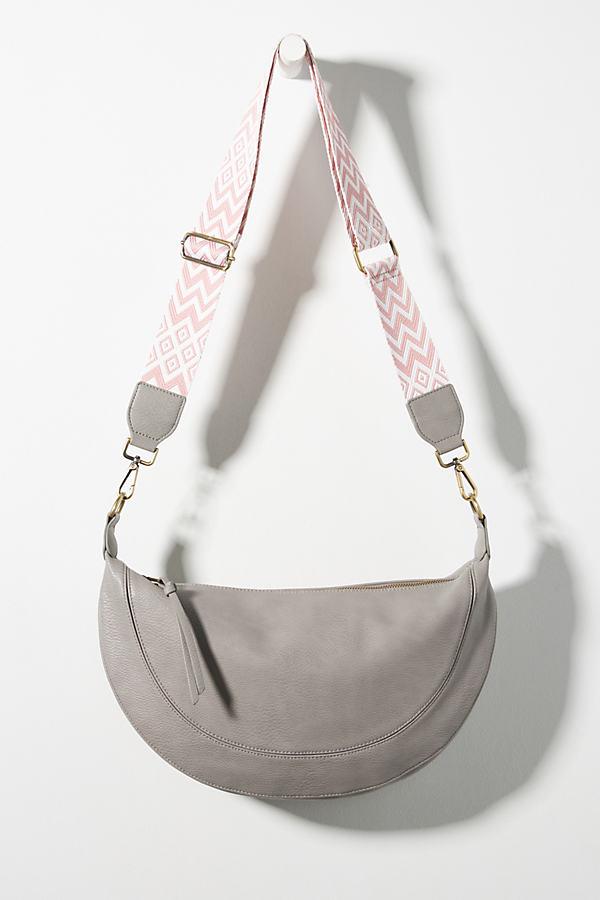 Urban Originals Luna Slouchy Crossbody Bag In Grey