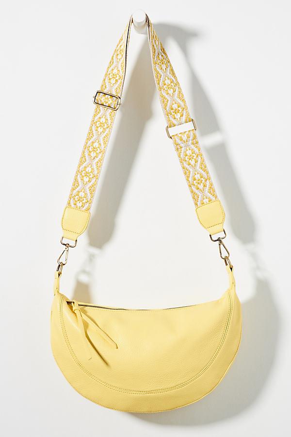 Urban Originals Luna Slouchy Crossbody Bag In Yellow