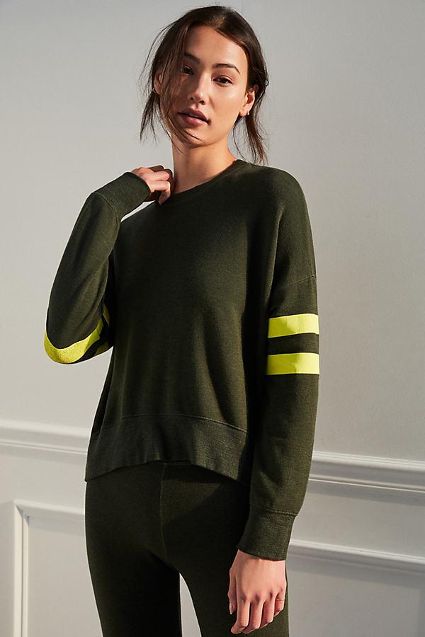 Sundry Contrast Stripe Sweatshirt