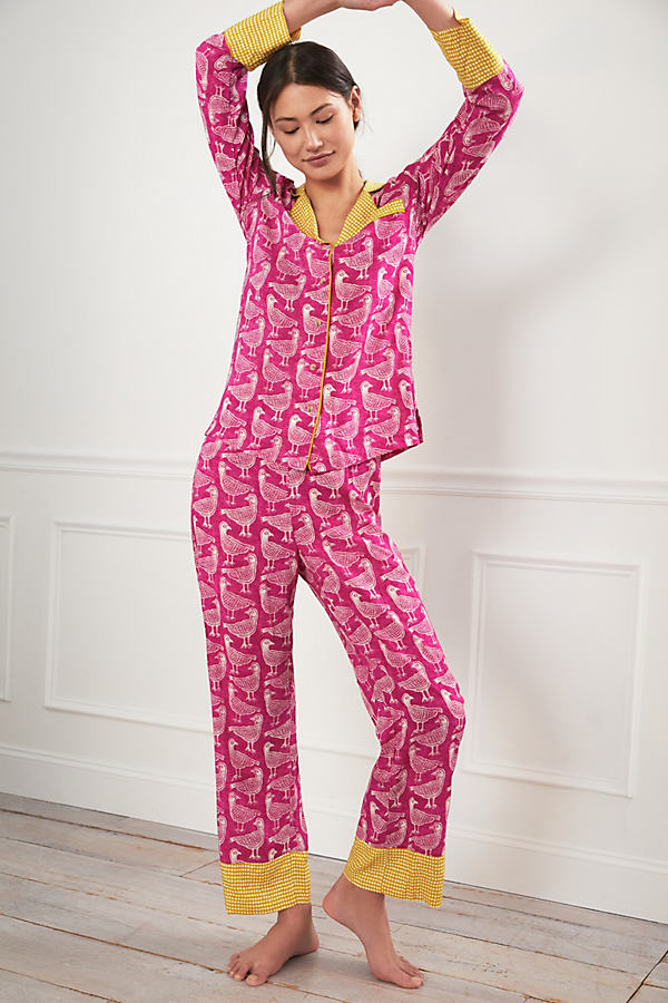 Jen Hewett Birds of a Feather Pyjama Set