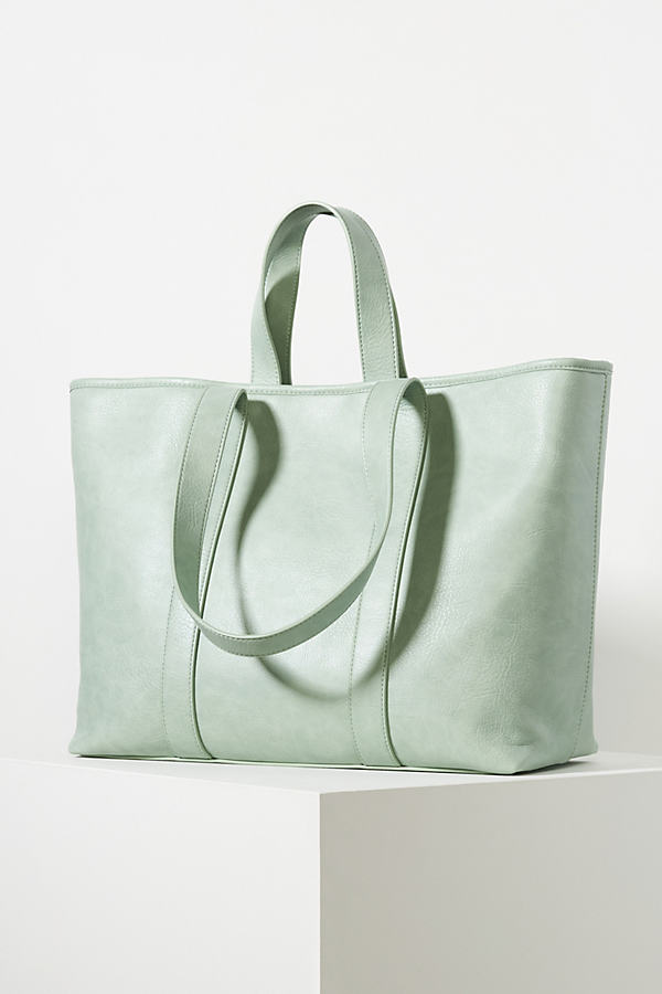 Urban Originals Jenny Slouchy Tote Bag In Green