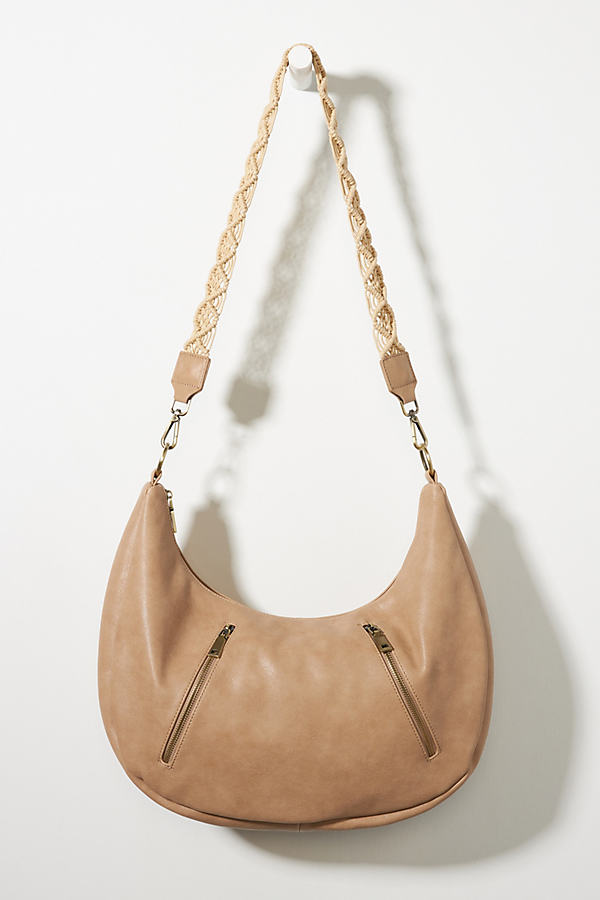 Urban Originals Crescent Slouchy Tote Bag In Neutrals