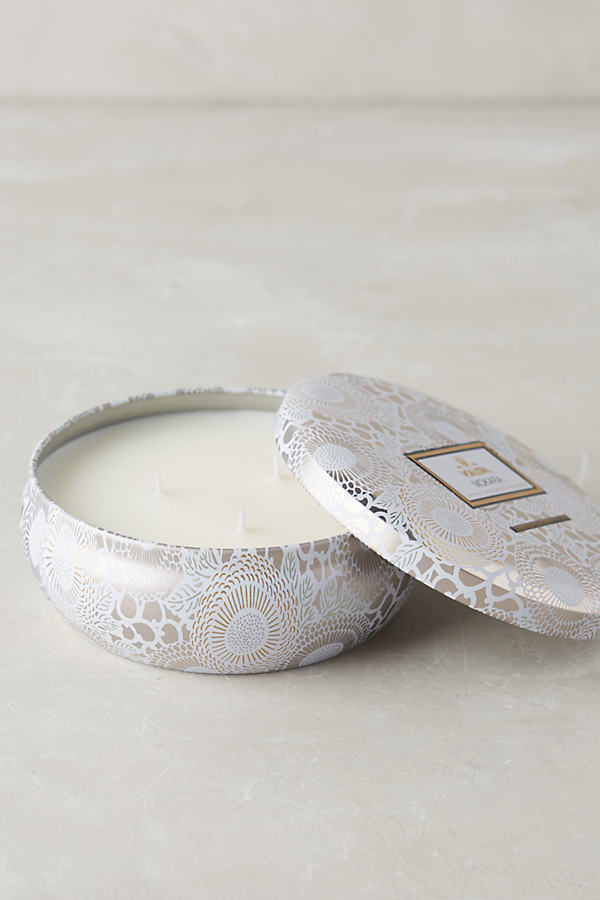 Voluspa Japonica Candle Tin - White, Size Assorted
