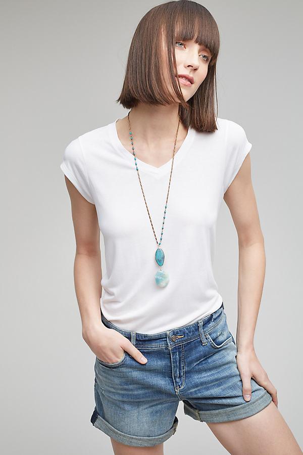 Portland T-Shirt - White, Size Uk 8