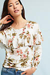 Thumbnail View 1: Ritchie Floral Ruffled Sweater