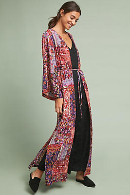Slide View: 1: Henderson Cover-Up Kimono