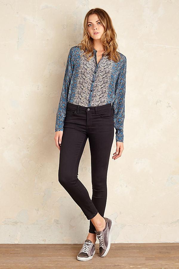 Pilcro Serif Jeans - Black, Size 28