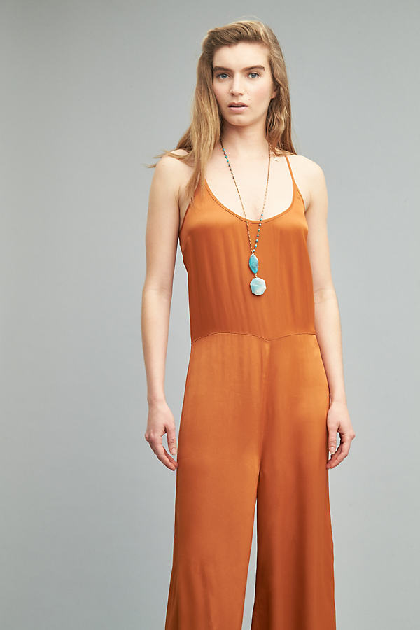Panter Jumpsuit - Dark Orange, Size M