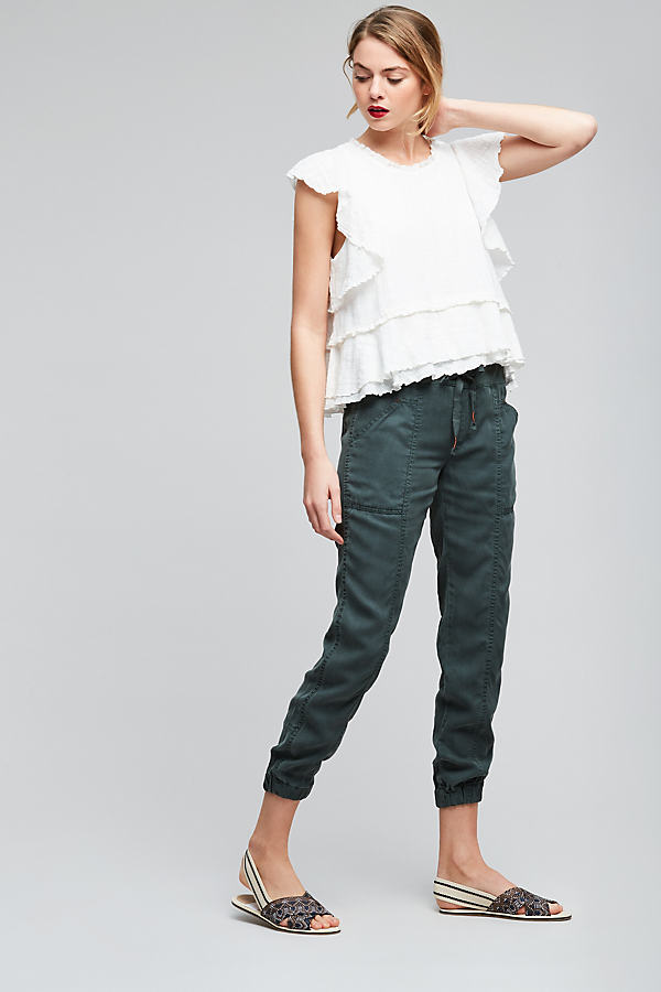 Madison Jogger Trousers - Green, Size L