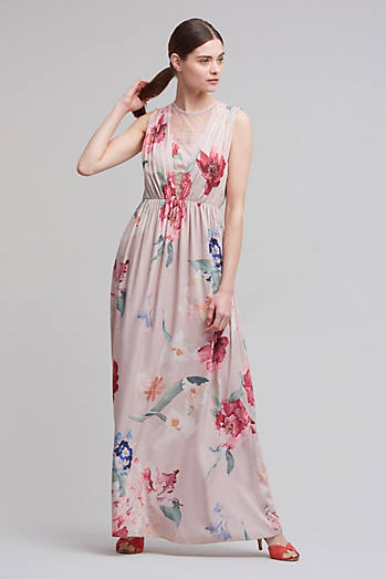 Chantal Floral Maxi Dress