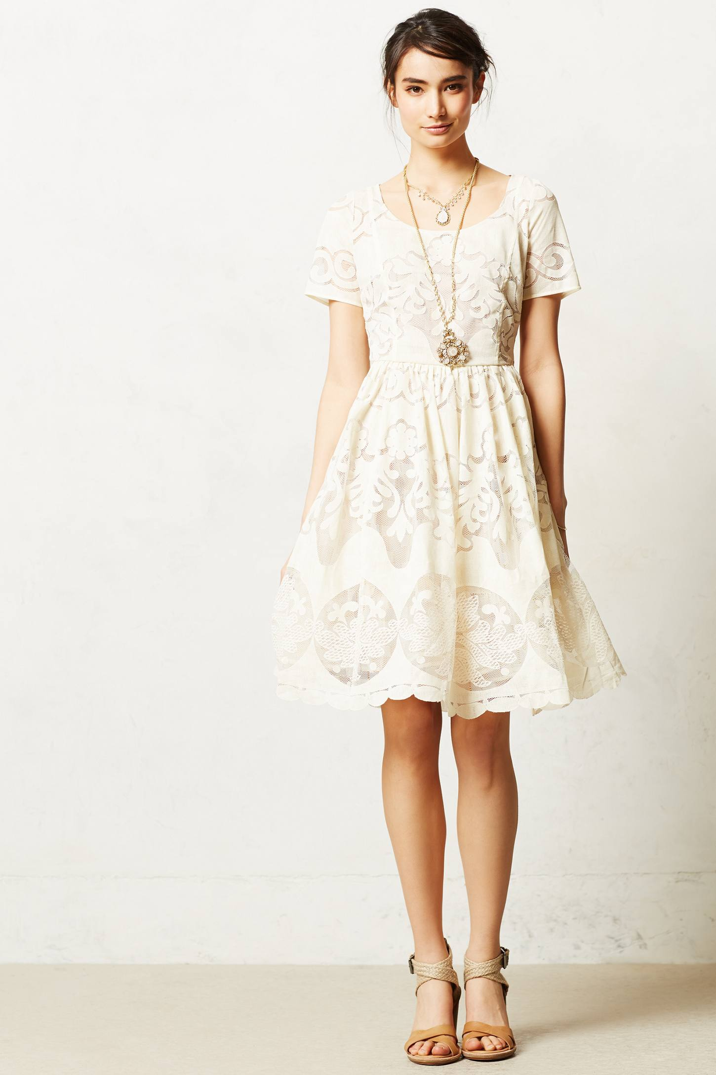 8894656e90fb Anthropologie Ivoire Dress by Tracy Reese Sz 2 - NWOT | eBay