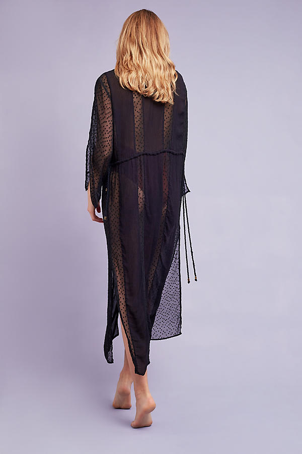 Slide View: 4: Adriana Sheer Beach Cover - Up