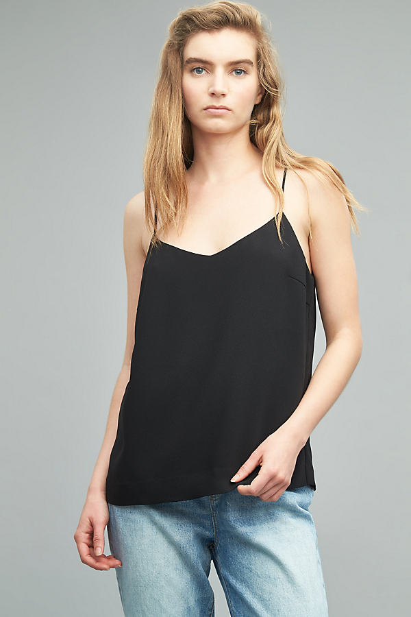 Penny Camisole, Black - Black, Size 14