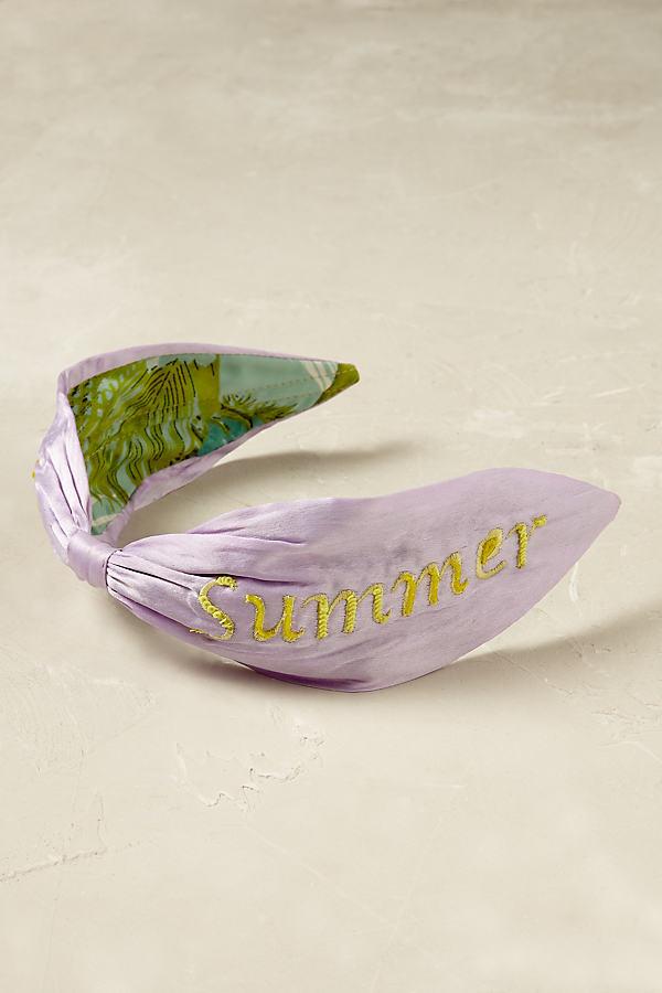Philomena Headband - Lilac