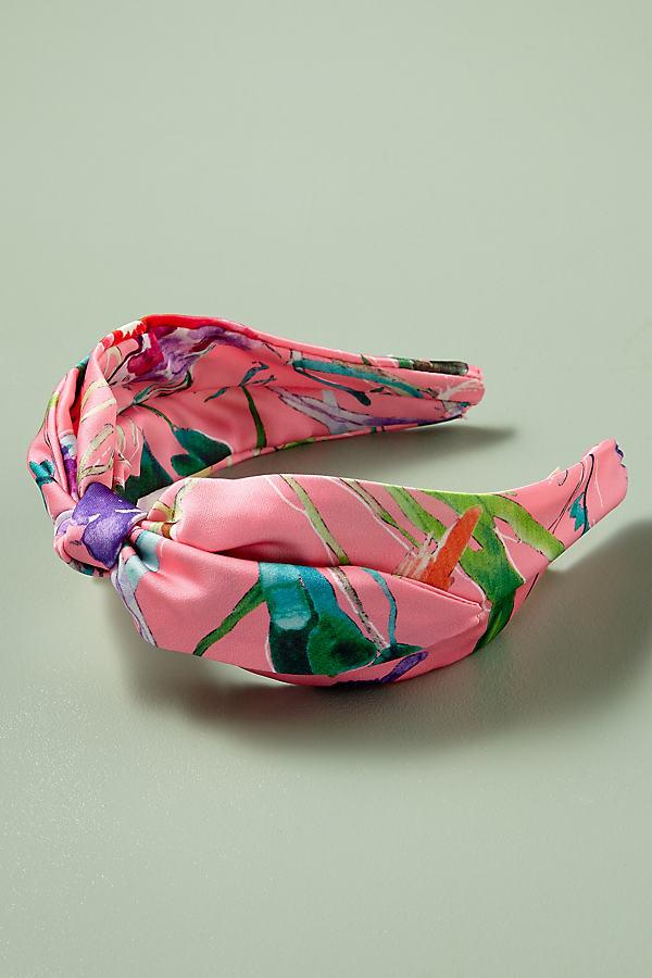 Dahlia Garden Headband - Pink