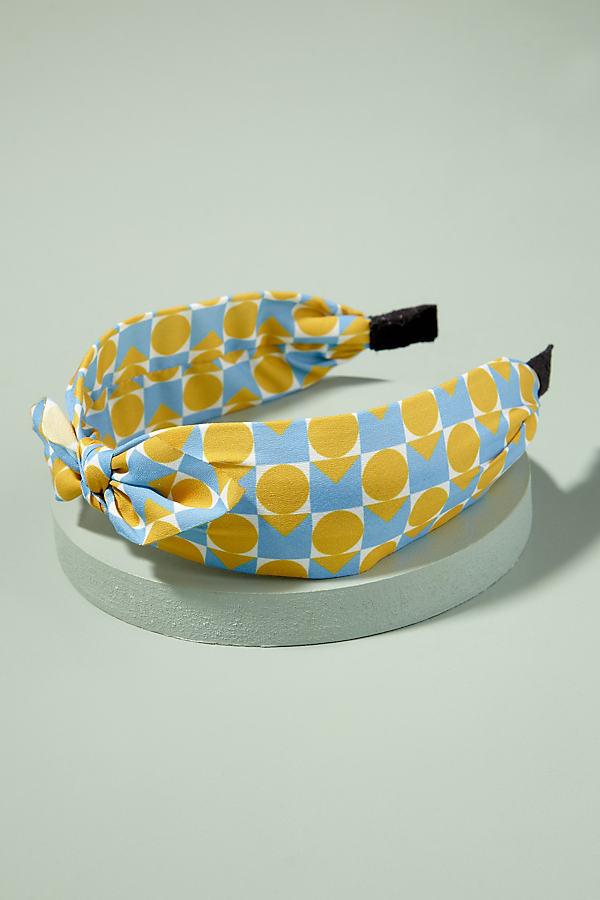 Ellie Retro Headband - Yellow
