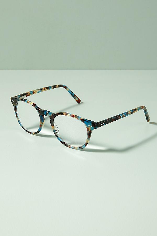 Sun Speckled Glasses - Blue Motif, Size 1.50X