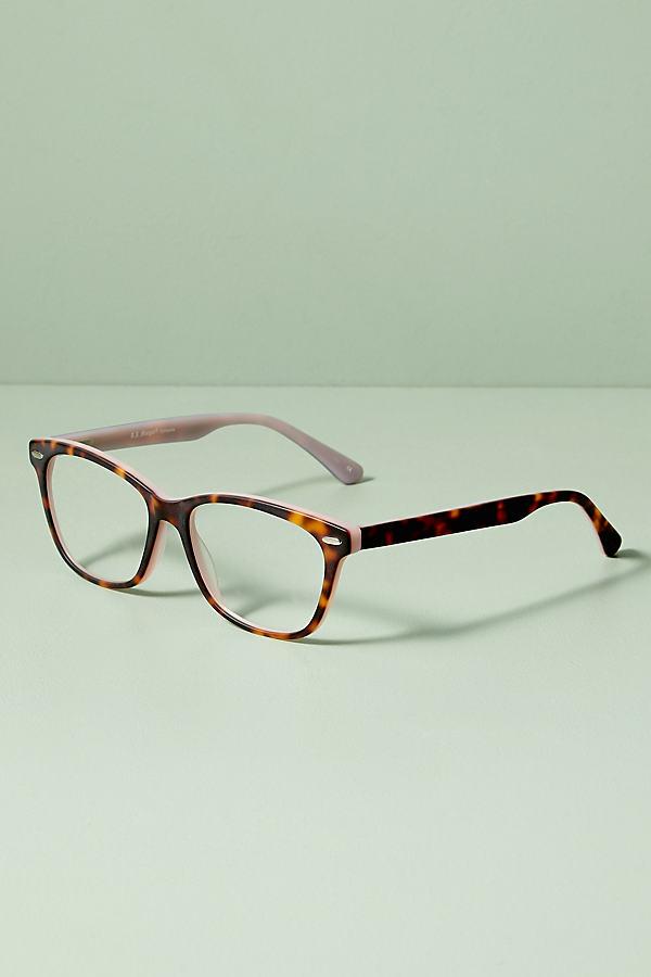 Ash Speckled Glasses - Pink, Size 1.50X