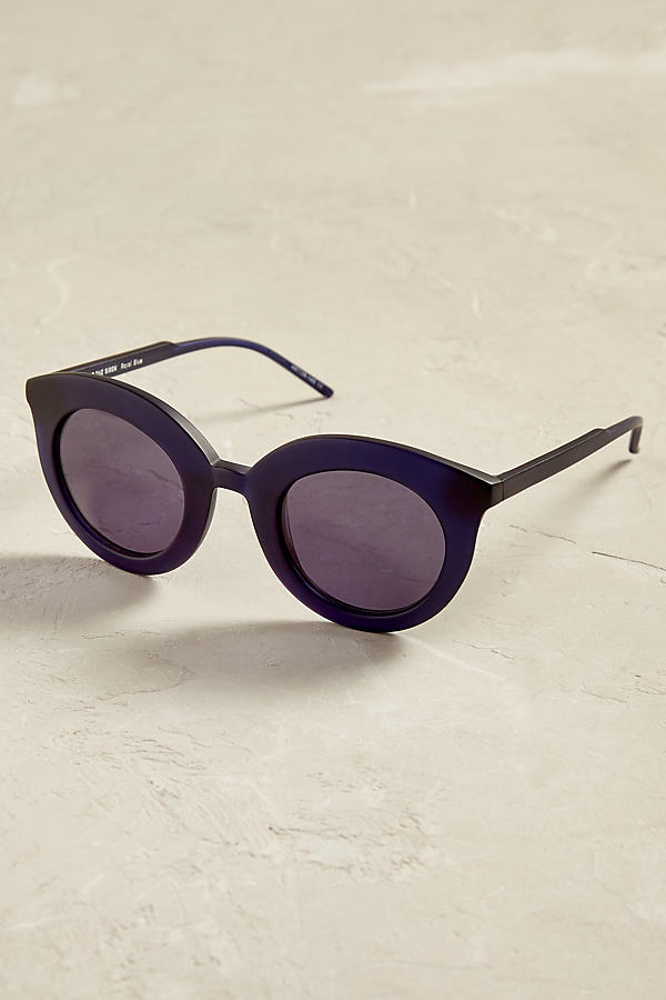 Madrid Cat-Eye-Sonnenbrille - Blue