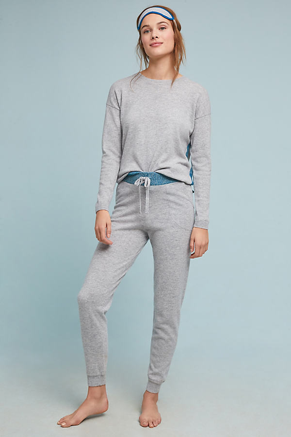 Peggy Wool and Cashmere-Blend Trousers - Grey, Size S