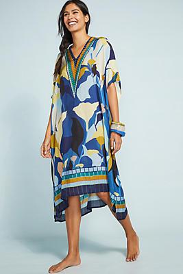 Slide View: 1: Steffi Cover-Up Maxi Dress