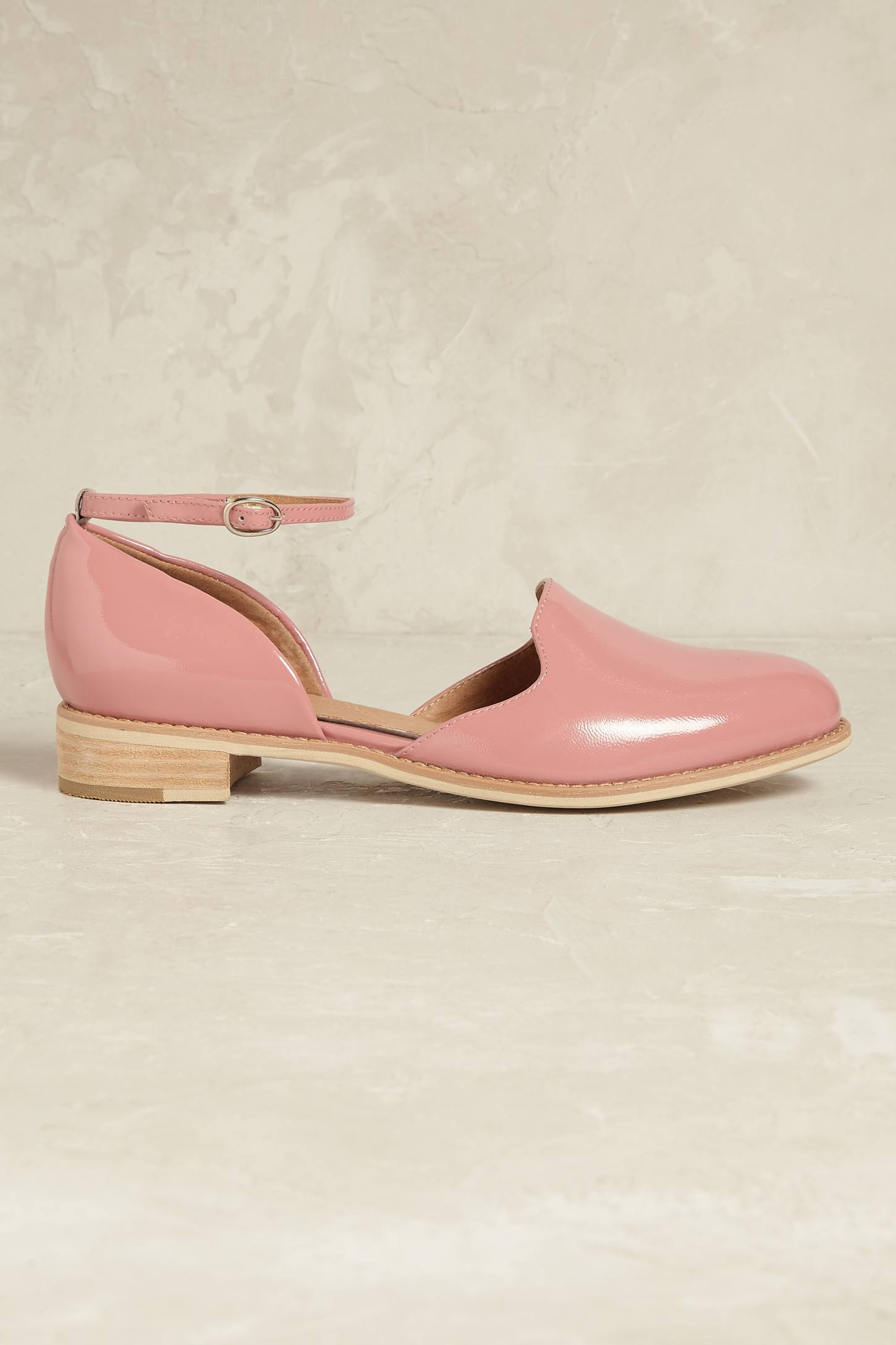 Slide View: 2: Madelyn Ankle-Strap Flats