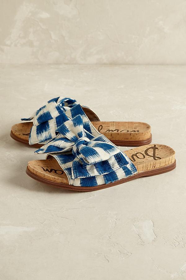 Henna Bow Sandals - Blue, Size Eu 41