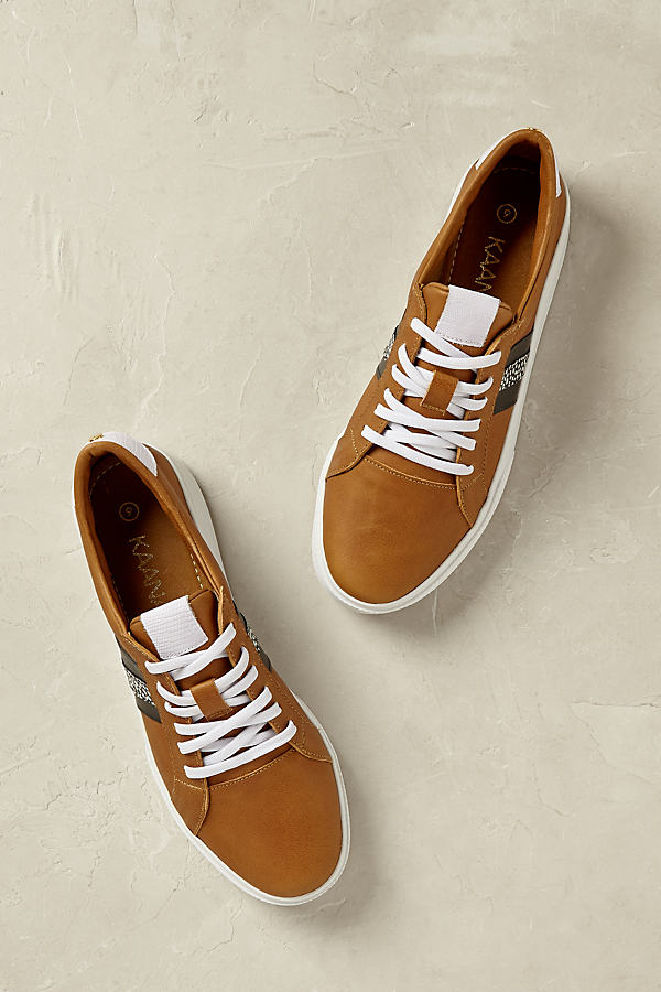 Luca Trainers - Brown, Size 9.