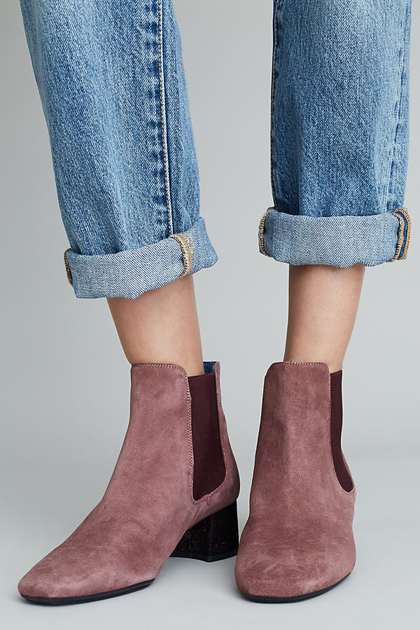 Leika Brown Suede Ankle Boots - Brown, Size 38