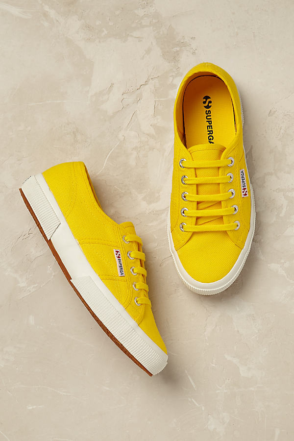 Superga Cotu Trainers - Yellow, Size 39