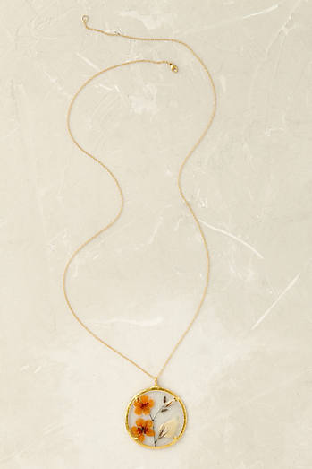 Jamal Gold Pendant Necklace