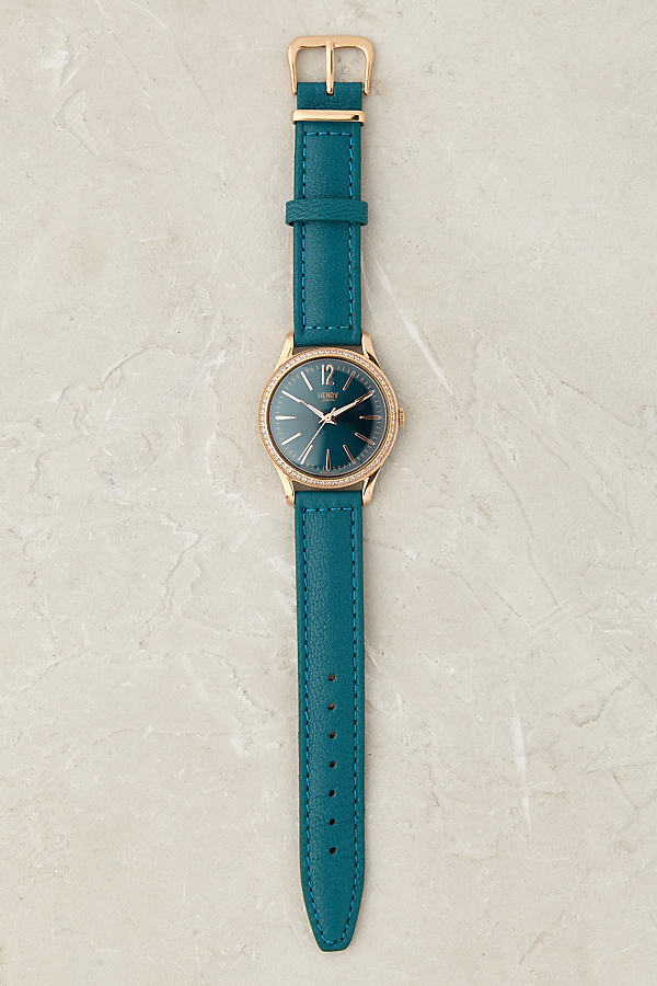 Henry London Stratford Watch - Turquoise