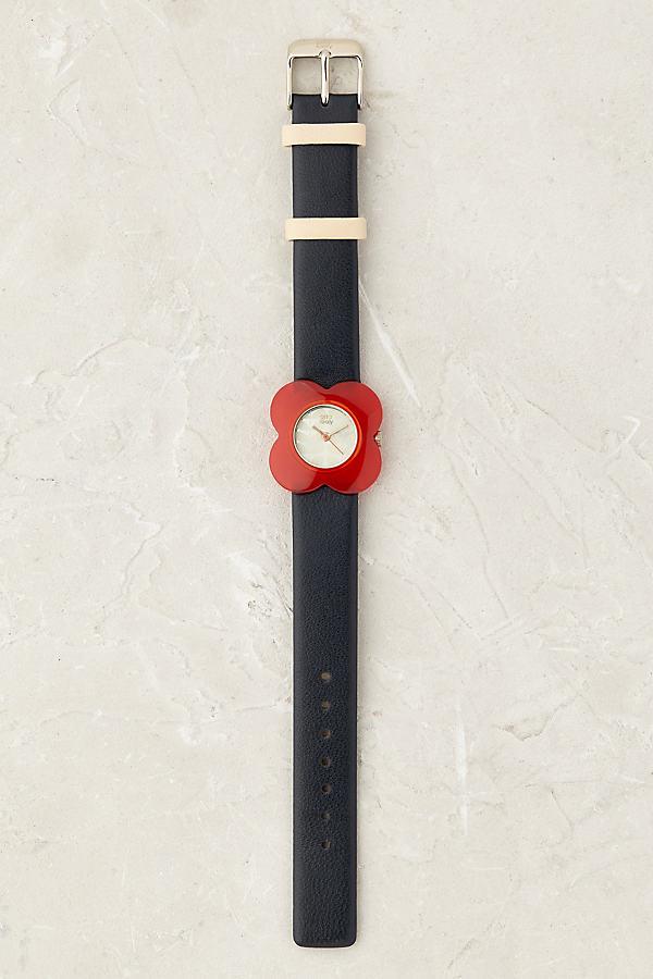 Orla Kiely Poppy Watch - Navy