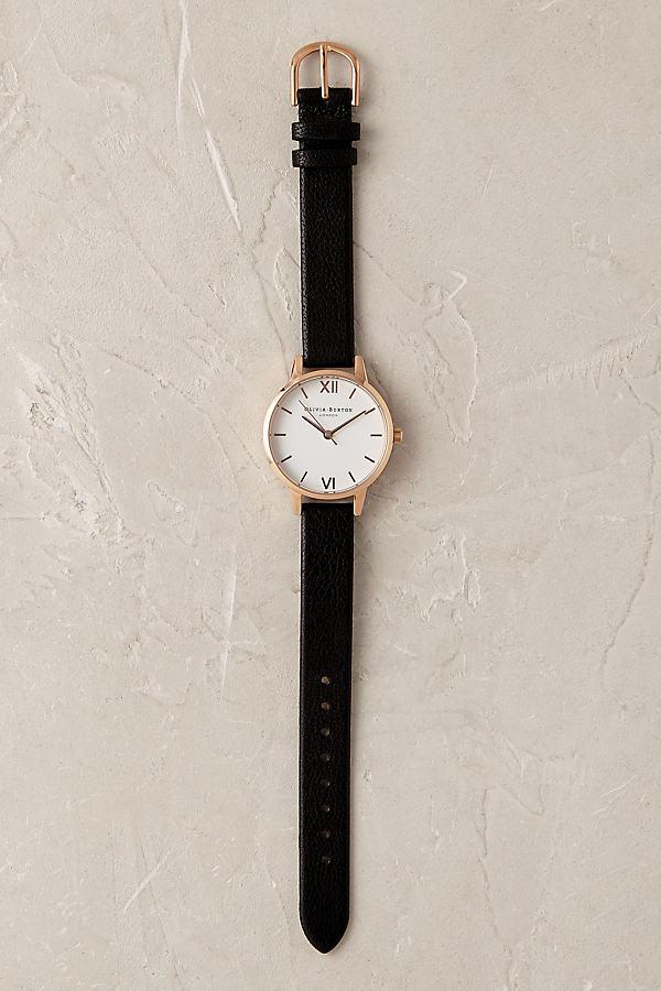 Olivia Burton Rosaline Watch - Black