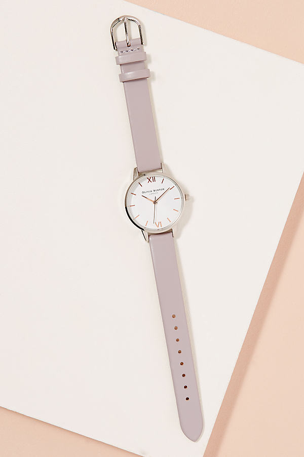 Olivia Burton Rosaline Watch - Grey Motif