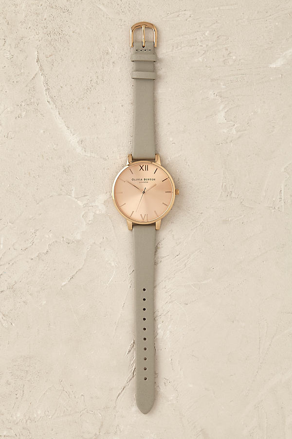 Olivia Burton Sunbeam Watch - Light Grey