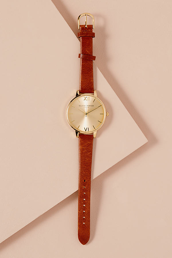 Olivia Burton Sunbeam Watch - Cedar