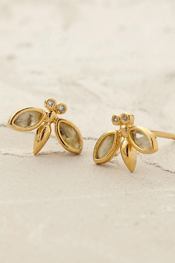 Buzzbye Earrings - Gold