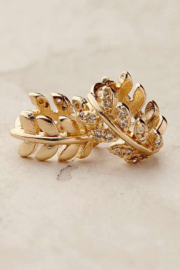 Athena Mini Hoop Earrings - Gold