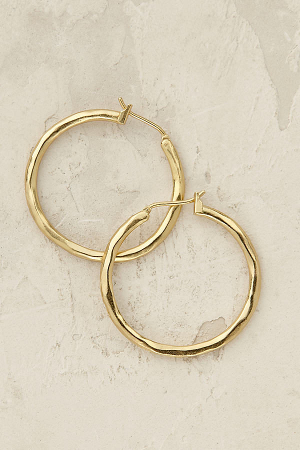 Romia Hoop Earrings - Gold